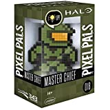 PDP Pixel Pals Halo Master Chief Collectible Lighted Figure, 878-034-NA-MASTER