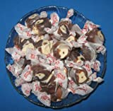 Chocolate Caramel Mocha Flavored Taffy Town Salt Water Taffy 2 Pounds
