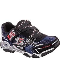 Skechers Boys Airtrax - Spurt Blue/Black/Lime Fashion Sneakers