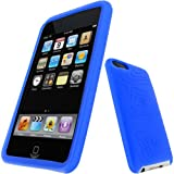 iGadgitz Silicone Skin Case Cover with Screen Protector for Apple iPod Touch 2G/3G - Blueby iGadgitz