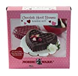 Nordic Ware Chocolate Brownie Heart Kit