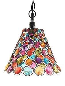 lampadario vetro colorato : Signes Grimalt - Lampadario da soffitto, ottica vetro colorato, 23 cm ...