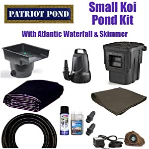 Patriot brand 15 x 20 small koi pond kit 3 for Small pond kits