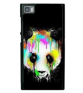 Colourful Panda 2D Hard Polycarbonate Designer Back Case Cover for Xiaomi Redmi Mi3