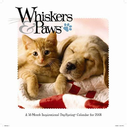 Buy Whiskers and Paws 2008 Wall Calendar