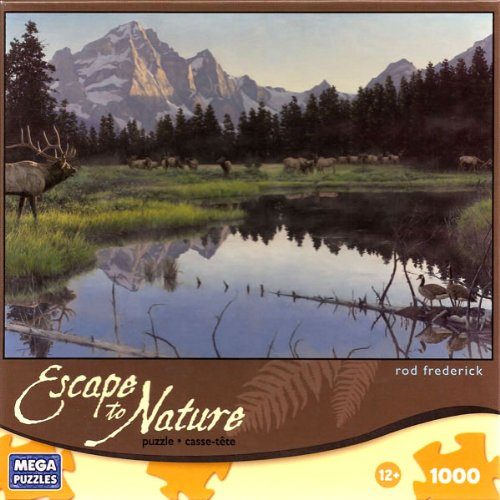 "Escape to Nature WAKE UP CALL 1000 Piece Puzzle (18 15/16"" X 26 3/4"")"