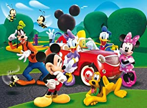 Amazon.com: Jigsaw Puzzle - 104 Pieces - Mickey Mouse Club House