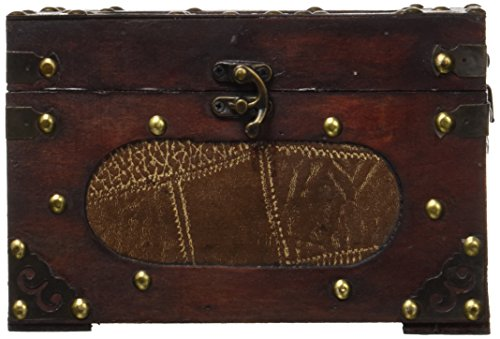 Vintiquewise(TM) Treasure Chest/Decorative Box, Small