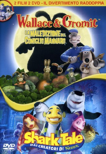 Wallace & Gromit - La maledizione del coniglio mannaro + Shark tale [2 DVDs] [IT Import] (Shark Tales 2 compare prices)