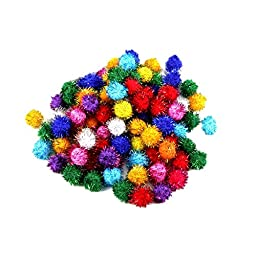 ColorPet Sparkle Balls Baby Toy 95 PACK(multi-color)