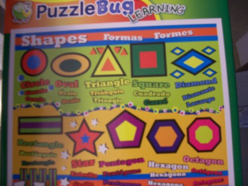 Puzzlebug Learning Puzzle ~ Shapes