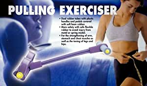Pulling Exerciser - (Workout for Abs, Arms, Chest, Legs, & Hips)
