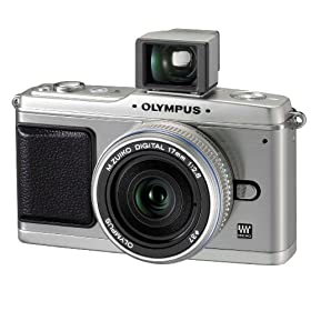 513NtIDhunL. SL500 AA280  Olympus PEN E P1 12.3 MP Micro Four Thirds Interchangeable Lens Digital Camera with 17mm f/2.8 Lens and Viewfinder   $760 Shipped