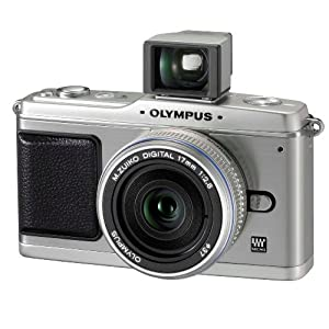 Olympus PEN E-P1 12.3 MP Micro Four Thirds Interchangeable Lens Digital Camera with 17mm f/2.8 Lens
