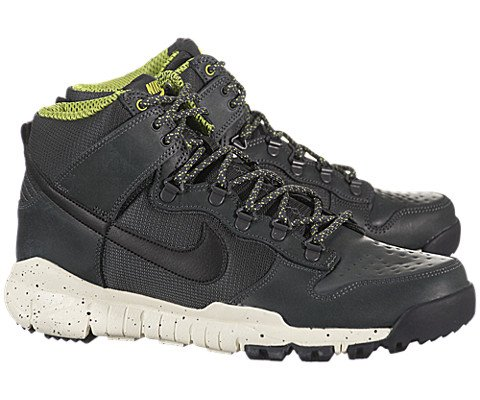 Nike Dunk High OMS – Anthracite / Black, 8 D US
