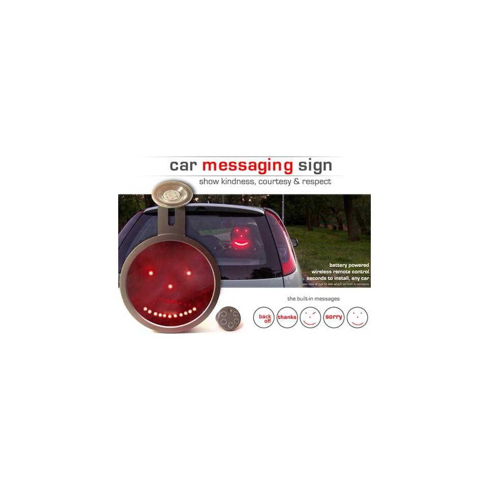 Drivemocion LED Car Message Sign Sorry