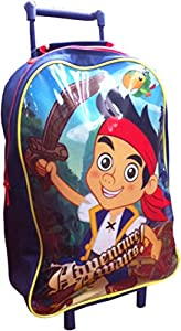 Trademark Collections JAKE001002 Disney Jake and The Never LandPirates Wheeled Bag