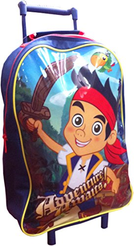 trade-mark-collections-jake001002-disney-jake-y-los-piratas-mochila-escolar-con-ruedas