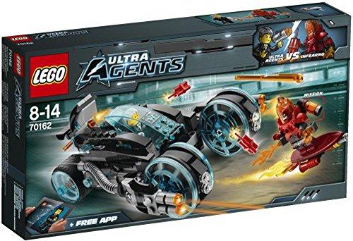 Lego Ultra Agents 70162 Infearnos Interceptor, 1Stück
