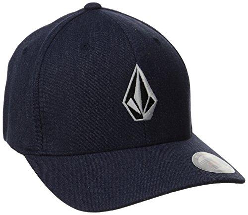 blu Volcom medio Curve Xfit Flexfit Cap ~ Pietra completa