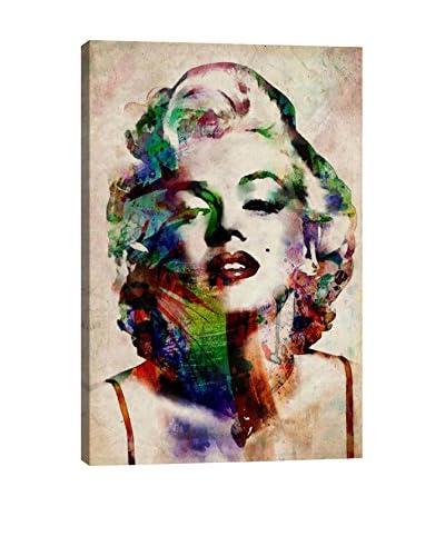 Michael Tompsett Watercolor Marilyn Monroe Gallery Wrapped Canvas Print