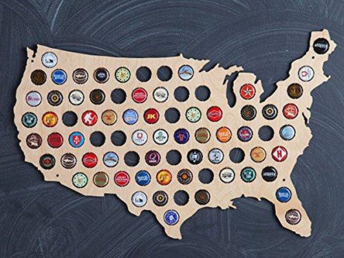 Beer Cap Map, Beer Cap Holder, Beer Cap USA Map, Cap Map, Cap Maps, Beer Cap Maps, Beer Cap Holders, Craft Beer State Map, Beer Lovers