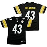 Troy Polamalu #43 Pittsburgh Steelers Nike Youth Limited Jersey- Black
