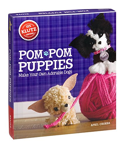 Klutz-Pom-Pom-Puppies-Make-Your-Own-Adorable-Dogs-Craft-Kit