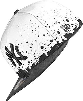 New Era Panel Splatter NY Yankees casquette 6 7/8 white/black