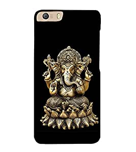 Lord Ganesha 3D Hard Polycarbonate Designer Back Case Cover for Micromax Canvas Knight 2 E471
