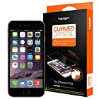 iPhone 6 Plus Screen Protector, Spigen® [Steinheil] Full Cover [Curved Crystal] High Definition (HD) Premium Ultra Clear Front Screen Protector for iPhone 6 Plus (2014) - Curved Crystal (SGP11300)