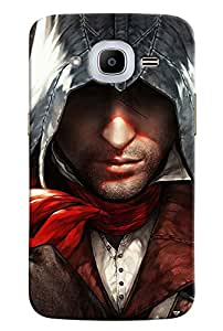 Omnam Assasin Creed Pirates Printed Designer Back Cover Case For Samsung Galaxy J2 2016