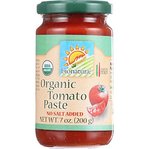 Bionaturae Tomato Paste - Organic - 7 oz - case of 12 - 100% Organic - No Salt Added - Made in Italy (Bionaturae Tomato Paste compare prices)