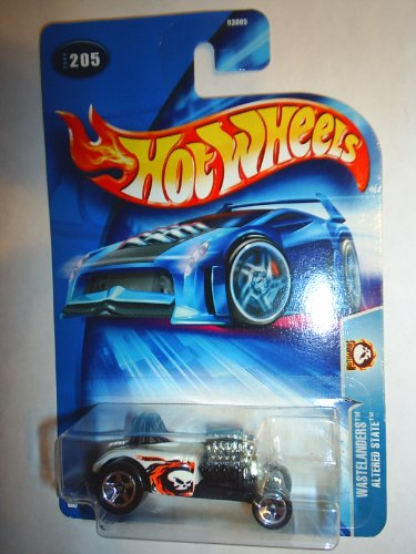 "Hot Wheels Altered State Chrome Painted Engine ""Wastelanders"" #205 (2004)"