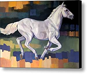 Horse pattern size 15x11 inch oil painting for Best way to sell art prints
