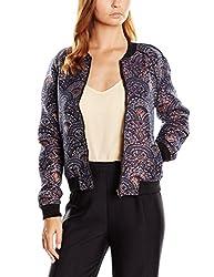 Vero Moda Women's Casual Jacket (_5712832627564_Black Iris_Medium_)