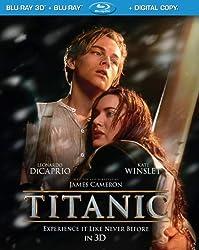 Titanic 3D (4-Disc Combo Pack) [3D Blu-ray + Blu-ray + Digital Copy]