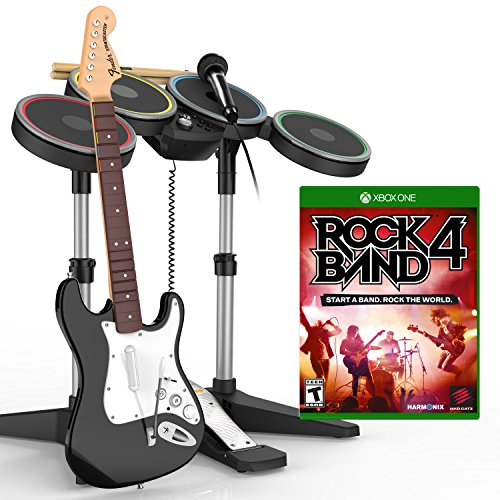 Rock Band 4 Band-in-a-Box Bundle - Xbox One (Fender Stratocaster Xbox compare prices)