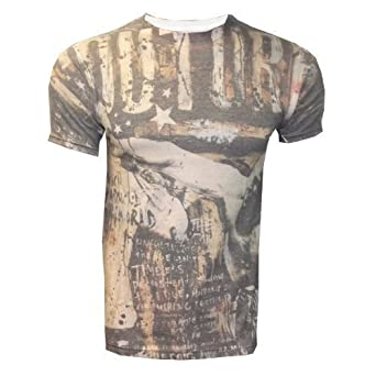 UFC MMA Cage Fighter Tee T-Shirt Top Couture Saint Pierre New Various Styles (XL, Couture Sublimation)