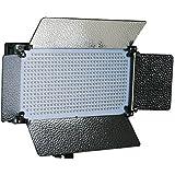 ePhotoInc Portable 500 LED Light Panel Photo Video Studio Portrait Dimmer Lighting Panel VL500SD