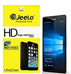 Jeelo HD Clear Screen Guard for Microsoft Lumia 950 XL