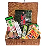 Sushi Probierpaket inkl. einfacher Sushi Rezepte im Geschenkkorb