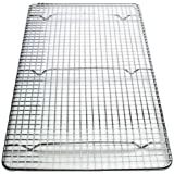 Cross-Wire Grid Cooling Rack, Wire Pan Grate, Baking Rack, Icing Rack, Chrome