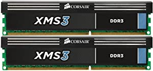 Corsair Xms3 8 Gb 2 X 4gb 1333 Mhz Pc3-10666 240-pin Ddr3 Memory Kit Cmx8gx3m2a1333c9