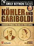 echange, troc  - DEHASKE KÖHLER/GARIBOLDI - CONCERT ETUDES FOR ONE OR TWO FLUTES + CD
