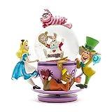 """ディズニーフィギュア スノーグローブ ふしぎの国のアリス チシャ猫 """"Spinning"""" Snowglobe Disney"""