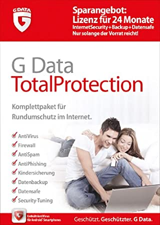 G Data TotalProtection 1PC mit 24 Monaten Updateservice