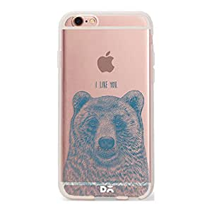 DailyObjects Bear Silicone Clear Case For iPhone 6S