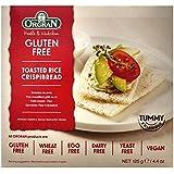 Orgran Gluten Free Toasted Rice Crispibread - 4.4 oz (Pack of 1)