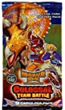 Dinosaur King Trading Card Game Series 2 Colossal Team Battle Booster Pack